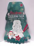 Weihnachten Christmas Malbuch in Tannenform 25 Bilder 15068