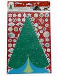 Disney Sticker Bogen Frozen Dekoriere einen Weihnachtsbaum Nr.02