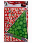 Disney Sticker Bogen Cars Dekoriere einen Weihnachtsbaum Nr.01