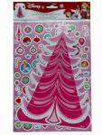 Disney Sticker Bogen Princess Dekoriere einen Weihnachtsbaum Nr.03