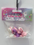 3x 3D Puzzle Radiergummi Einhorn Unicorn