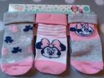 Socken Disney Baby 3er Pack Minnie Maus Gr.80/86 #15978