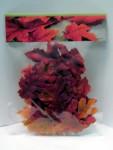 Herbst Deko Mix herbstliche Blätter 4 Farben 25 Stück #16092