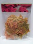Herbst Deko Mix herbstliche Blätter 4 Farben 25 Stück #16091