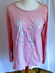 Disney Micky & Minnie LA-Shirt Rosa Gr.M/L 15668