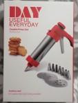 Plätzchenspritze Küchenspritze Multifunktion mit Keksplatten Spritztüllen 15111