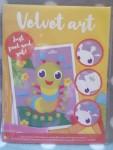 Bastelset Velvet Art SamtKunst Raupe #15884