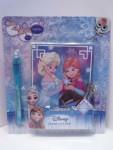 Buch: Disney Frozen Tagebuch zum verschließen mit UV Stift #16081