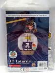 Lampion Laterne Gartenparty bzw. Sankt Martin 3D Piratenschiff