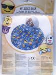 Aufblasbarer Stuhl Emoji PVC Nr.06 ab 3 Jahre
