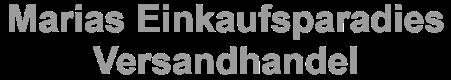 Marias-Einkaufsparadies.de - Versandhandel-Logo