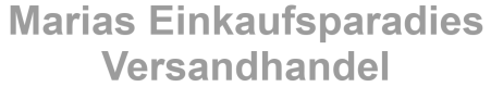 MARIAS-EINKAUFSPARADIES.DE Onlineshop-Logo