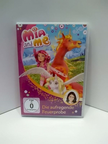 DVD Film Mia and Me Nr.07 Die aufregende Feuerprobe