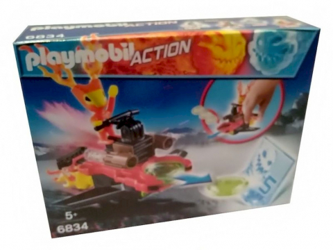 Playmobil 6834 Sparky mit Disc-Shooter