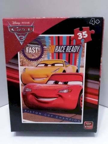 King FLC06/18 Disney Cars III Puzzle 35tlg.