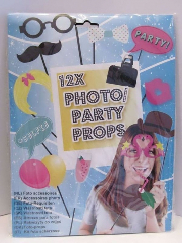Foto-Requisiten 12x Photo/Party Props Nr.02 kaufen | Marias-Einkaufsparadies.de