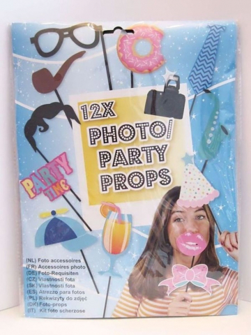 Foto-Requisiten 12x Photo/Party Props Nr.03 kaufen | Marias-Einkaufsparadies.de
