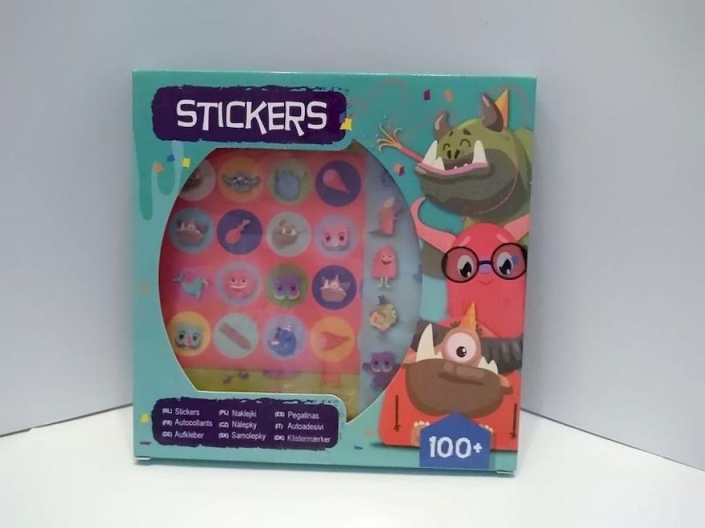 Aufkleber Sticker Set Stickerbox Ca 100 Sticker Monster Marias