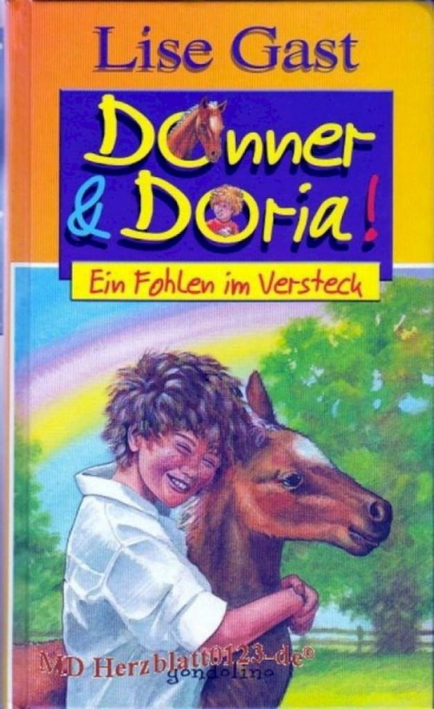 Buch Donner und Doria Ein Fohlen im Versteck Gondrom Verlag