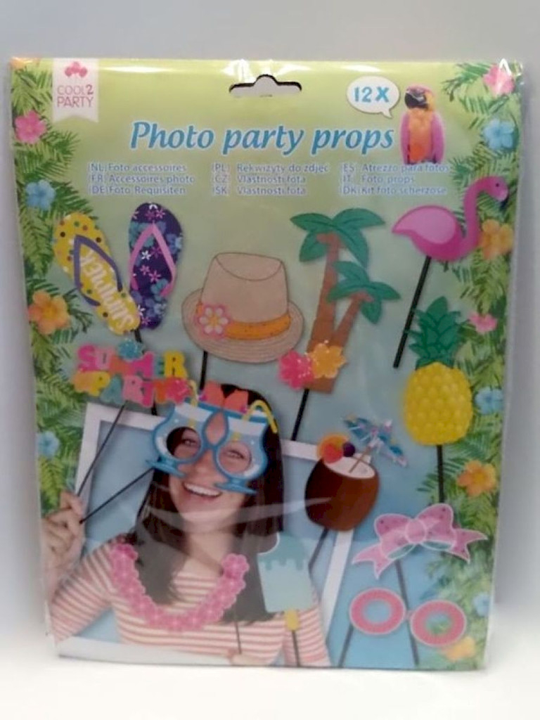 Foto-Requisiten 12x Photo-/ Party- Props Nr.06