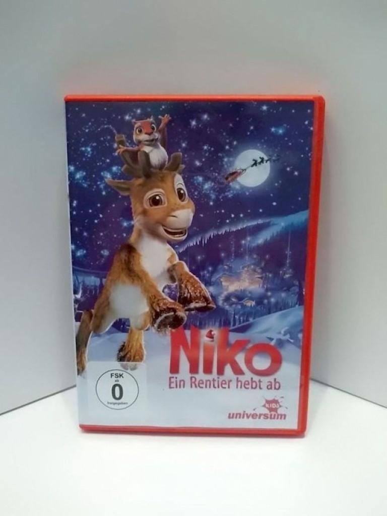 DVD Film Niko Ein Rentier hebt ab
