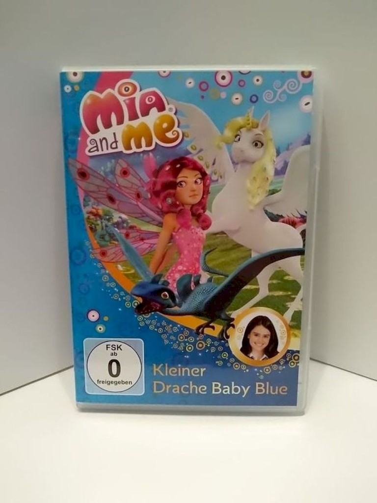 DVD-Film: Mia and Me Nr.05 Kleiner Drache Baby Blue